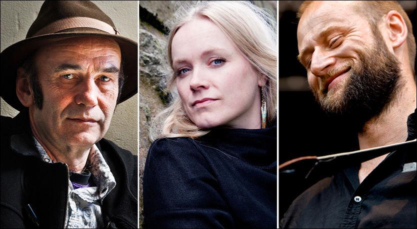 ALBUM-TOPPEN: Hans Petter Gundersen i The Last Hurrah!!, Ane Brun og Stein Torleif Bjella har laget norges tre beste album i år, ifølge VG. Foto: Frode Hansen, Espen Braata, Krister Sørbø.