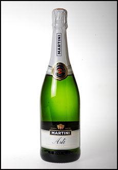 Martini Asti inneholder mye sukker. Foto: Jan Petter Lynau