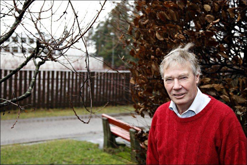 NYTER: AP-veteran Rune Gerhardsen sier han benytter seg av etterlønnsordningen fra Stortinget med god samvittighet og nyter fridagene hjemme. Foto: KNUT ERIK KNUDSEN