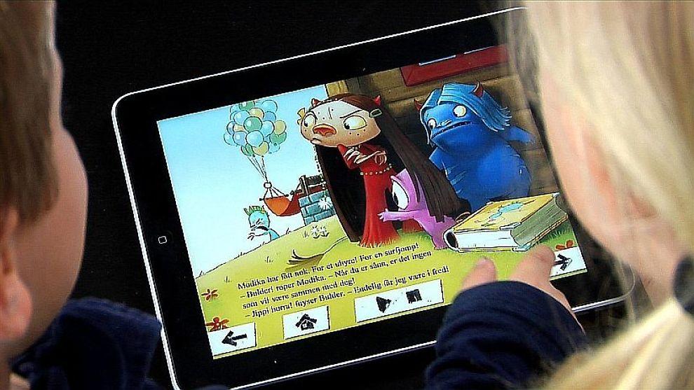 DISTRAKSJONSMASKIN: Barn konsentrerer seg dårligere med nettbrett og vil aller helst bare bruke brettene til dataspill, mener flere VG Nett har snakket med. Foto: Cynergi