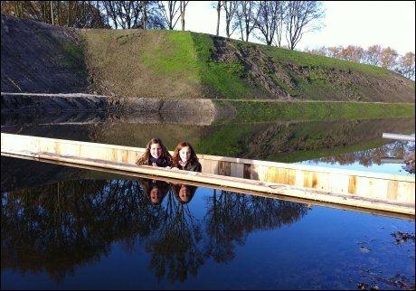 POPULÆRT: Den hollandske vannlinjen blir i dag til rekreasjon av mange nederlendere. Foto: WENN.com