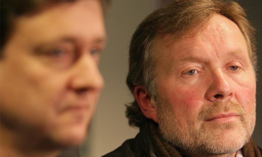 BETENKT: Tidligere styreleder i Stabæk, Erik Loe, ble i dag siktet i overgangssaken rundt Veigar Páll Gunnarsson. Foto: Simen Næss Hagen