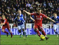 Liverpool sløste med sjansene