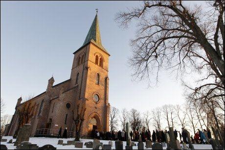KIRKEGJENGERE: Folk som går i kirken har lavere blodtrykk, viser ny forskning. Foto: Håkon Mosvold Larsen / Scanpix