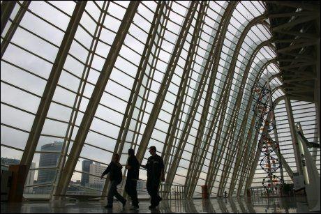 CITY OF ARTS: Spenstig bygningskompleks signert Valencias bysbarn, arkitekten Santiago Calatrava. Foto: DAG FONBÆK Foto: