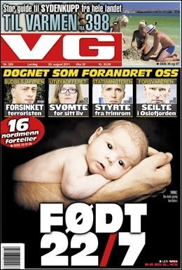 VG, lørdag 20. august 2011.