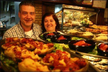 VALENCIA: Ikke noe annet sted i Spania får vi bedre tapas enn i Valencia. Foto: Dag Fonbæk