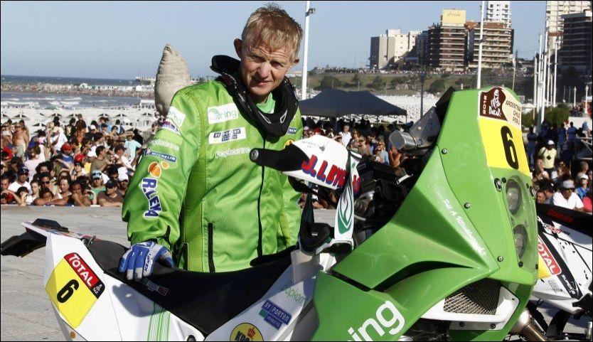 SLO TILBAKE: Pål Anders Ullevålseter kjørte seg kraftig opp den bitre poengstraffen han fikk tirsdag. Foto: Reuters