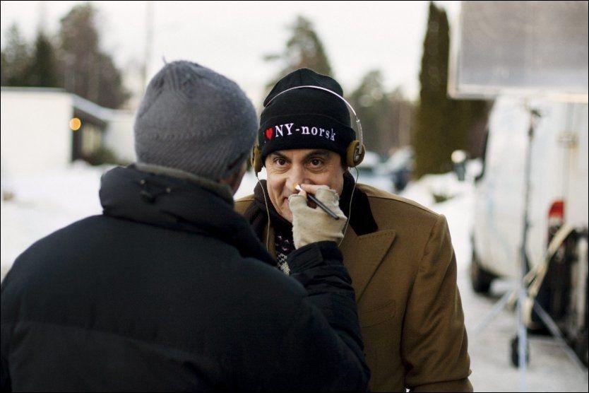 INTERNASJONAL STJERNE: Steve van Zandt fra «Sopranos» er den store stjernen i serien «Lilyhammer». Foto: Thomas Ekström/Rubicon TV