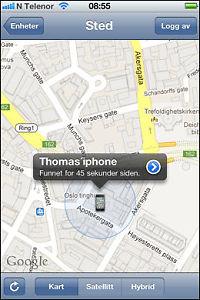 Iphone-app avslørte telefontyv