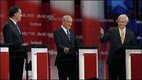 Innspurt i New Hampshire: Gingrich til angrep på Romney