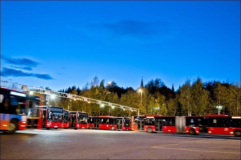 KORRUPSJONSSAK: Til sammen 13 personer er siktet etter at den såkale Unibuss-saken sprakk sensommeren 2011. Foto: Krister Sørbø