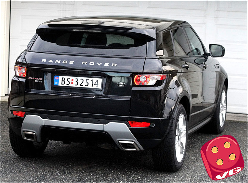 test av range rover evoque voldsomt og kostbart biltest vg. Black Bedroom Furniture Sets. Home Design Ideas