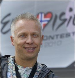MGP-EKSPERT: Morten Thomassen, president i den norske Melodi Grand Prix-klubben. Foto: MORTEN HOLM/SCANPIX