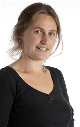 SETTER GRENSER: Wanda Woldner, daglig leder i Foreningen Les!, sier Shezadi kun uttaler seg om det å gå i niqab. Foto: VIBEKE RØGLER