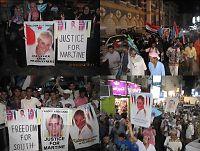 Krevde rettferdighet for Martine i kjempedemonstrasjon i Aden