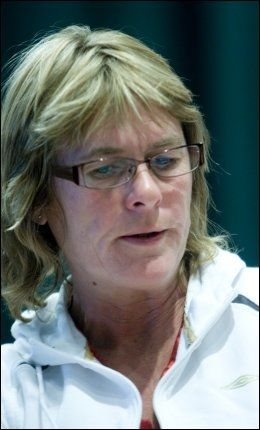 - SYND: Tone Angeltveit, leder i Serieforeningen for kvinnefotball, synes det er synd at NFF ikke opprettholdt avtalen i Jenteløftet. Foto: Morten Holm, Scanpix