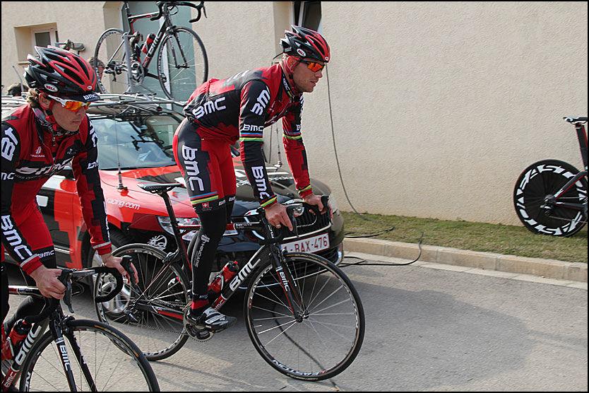 VELGER NY VRI: Thor Hushovd, her i BMC-drakt i Spania i går, sykler årets Giro i mai. Foto: Anders K. Christiansen, VG Nett