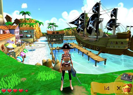 ARRRR: Exit Strategy Entertainment satser på spillet «Pirates of New Horizon». Foto: EXIT STRATEGY