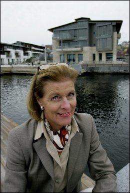 TENKER FREMOVER: En av Norges rikeste kvinner, Mille-Marie Treschow (57), har fått tillatelse til å gravlegge seg og sin familie i egen hage. Foto: Roger Neumann