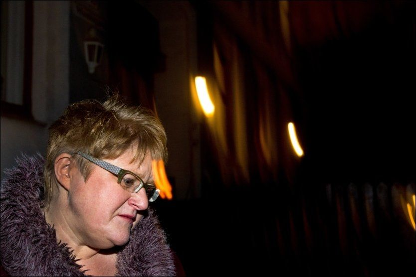 FORFERDELIG SITUASJON: Trine Skei Grande er sterkt preget etter at hennes nestleder Helge Solum Larsen ble voldtektsanmeldt på tirsdag, og forteller til VG at hun har grått mye. Foto: JAN PETTER LYNAU/VG.