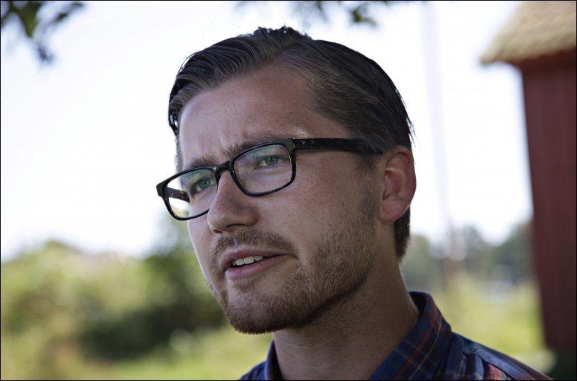 REAGERER: Sveinung Rotevatn er leder for Unge Venstre. Han reagerer kraftig på det han kaller et tillitsbrudd etter sexskandalen i Stavanger. Foto: Scanpix