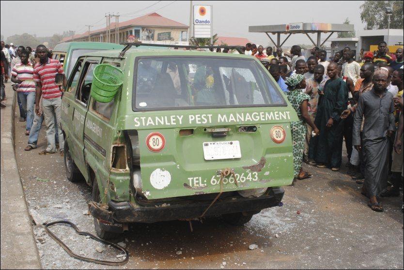 Selvmordsangrep mot militære i Nigeria
