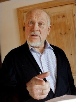 SKAPER STRID: Forfatter og foredragsholder Per Haakonsen har fått mye kritikk etter sitt foredrag hos Sarpsborg KrF i januar. Ifølge Haakonsen var det KrF som ba han snakke om 22. juli. Foto: Scanpix