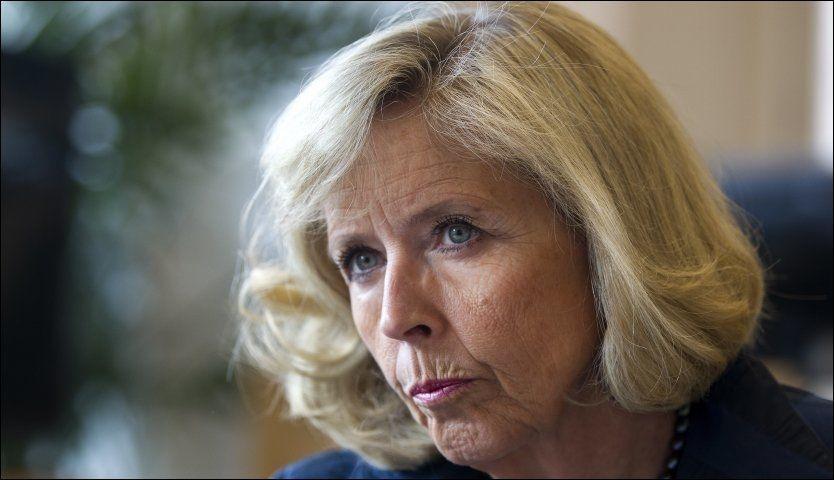 OVERSIKT: Helseminister Anne Grethe Strøm-Erichsen vil kartlegge helsepersonell med samvittighetskvaler. Foto: Jan Petter Lynau/VG