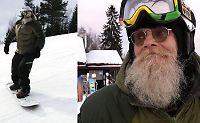Snowboardikonet «Tommen» tilbake der det startet