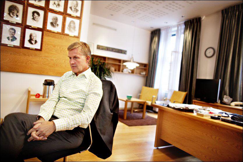 BEKYMRET: Miljøvernminister Erik Solheim. Foto: Scanpix