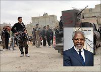 Kofi Annan oppfordrer Assad til å samarbeide