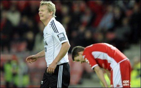 I GANG IGJEN: Steffen Iversen, her fra 3-2-seieren mot Brann i 2010, nettet to ganger i dagens treningskamp for Rosenborg. Foto: Scanpix
