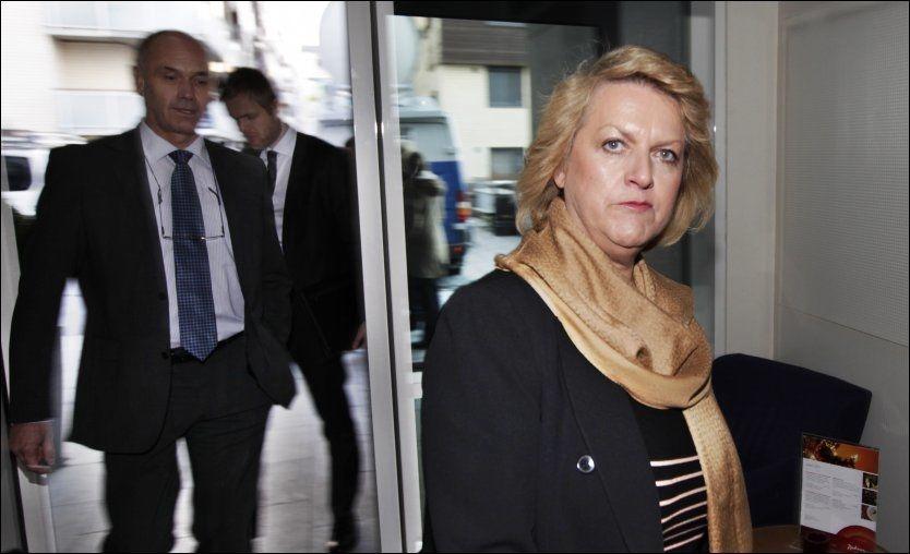 GÅR FRI: Avgått PST-sjef Janne Kristiansen slipper tiltale for å ha lekket hemmelig etterretningsinformasjon. Det avgjorde Spesialenheten for politisaker fredag. Foto: Nils Bjåland