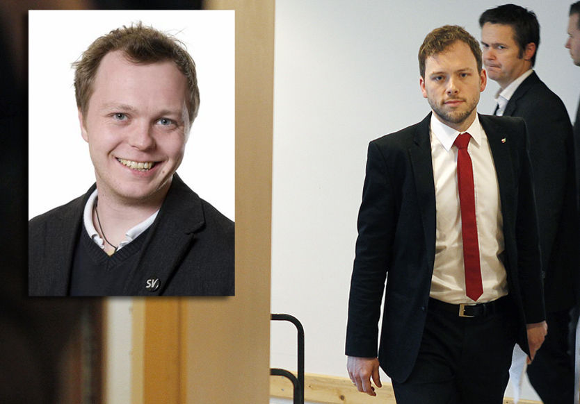 OMSTRIDT TILDELING: Gjermund Skaar, prosjektleder i Reform, fikk penger fra Audun Lysbakkens departement. De to er er nære venner. Foto: SV/Trond Solberg/VG Foto:
