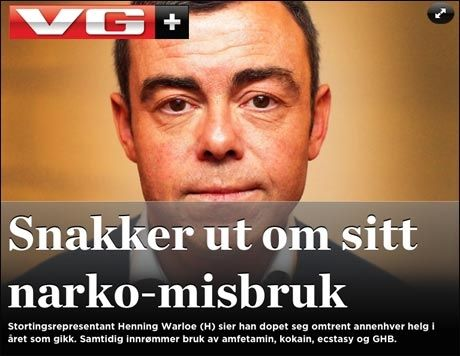 Les mer om Henning Warloe og stormen rundt ham på VG+