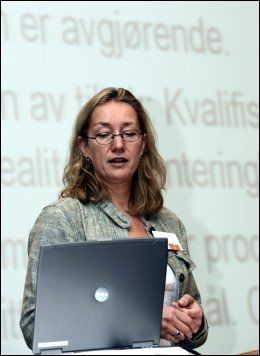 ROPER VARSKO: Forskningssjef Anne Britt Djuve i FAFO. Foto: SCANPIX