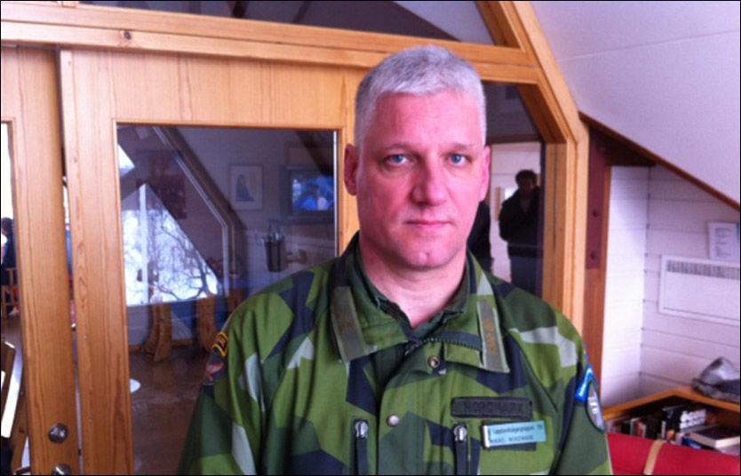 REDNINGSLEDER: Mikael Nordmark leder det krevende søket etter de fem savnede nordmennene. Foto: Roar Dalmo Moltubak, VG Nett