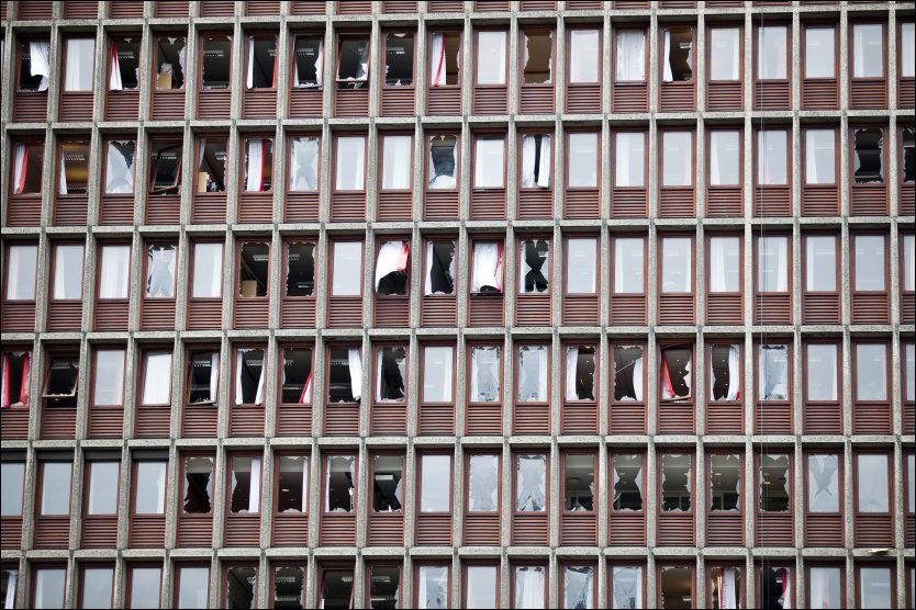 SVIKT: Da bomben gikk av regjeringskvartalet ble Asker og Bærum politidistrikt varslet for bistand. Men operasjonsleder måtte jobbe uten å følge mediedekningen fordi internett falt ut i operasjonsrommet. Foto: Sara Johannessen/VG