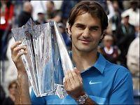 Federer med historisk Indian Wells-triumf