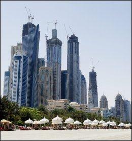 DUBAI: Neste vinter setter Solia opp direktefly. Her er hotellet One & Only Royal Mirage og litt av stranden foran. FOTO: GØRAN BOHLIN