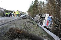 En omkommet etter trafikkulykke i Tysvær