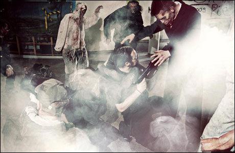 ANGRIPES: Zombiene vil prøve å ta deg. Foto: Zed Events