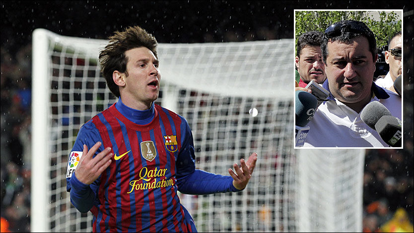 Image result for Mino Raiola and Messi
