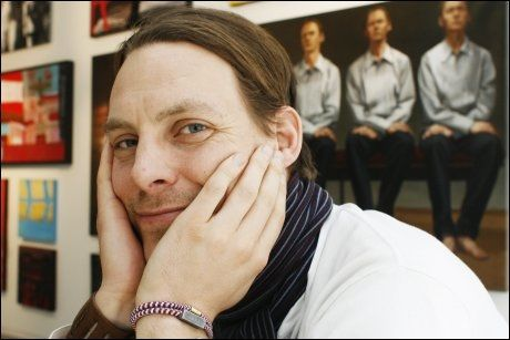 FOTOGRAFEN: Ole Martin Jørgensen brukte ett år på prosjektet. Foto: Børre Haugstad