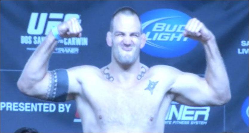 SLUTT PÅ KARRIEREN: John Olav Einemo kommer ikke til å satse videre på MMA. Foto: VGTV