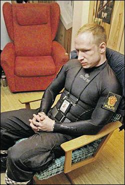 VISSTE DET VAR GALT: Anders Behring Breivik (32) er klar på at han visste forskjell på rett og galt da han gjennomførte terrorangrepet 22. juli.