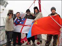 Her går Andhøy «Berserk» med chilensk marinesoldat