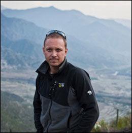 I KABUL: Reporter John Wendle. Foto: PRIVAT