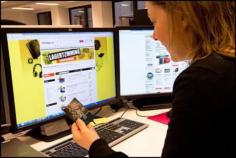 MYE Å SPARE: Det kan svare seg å sjekke priser ulike steder når du skal handle elektronikk på nett.